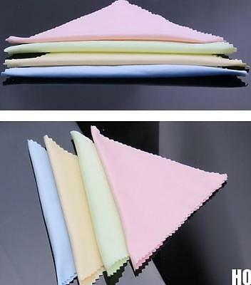 10X Microfiber Cleaning Cloth For Camera Cell Phone Tablet Screens Glasses Lens