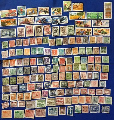 China Lot Of Over 150 Stamps New High Value