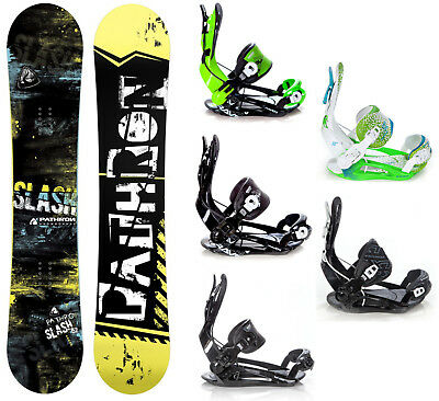 Snowboard Pathron Slash Carbon + Raven, Pathron oder Rage Fastec Bindungen -Neu!