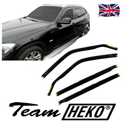 DBM11146 BMW X1 E84 2009 -2015  WIND DEFLECTORS Internal  4pc HEKO TINTED
