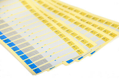Waterproof Sticker cables Labels for network cable / power / phone  line wire