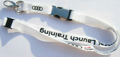 Audi Central Launch Training Schlüsselband Lanyard NEU (A5.3)