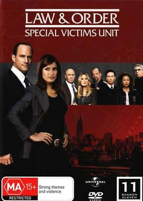 Law And Order Special Victims Unit SVU - Season 11 DVD R4 Brand New!