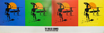 THE ENDLESS SUMMER POSTER (30x90cm) PERFECT WAVE NEW LICENSED ART