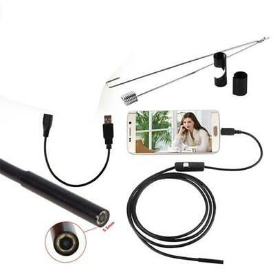 1.5 M 6LED Android Endoscope Waterproof Inspection Camera Micro USB Video Cam TS