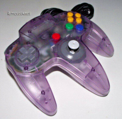 Genuine Nintendo 64 N64 Atomic Purple Controller Refurbed Toggle Original