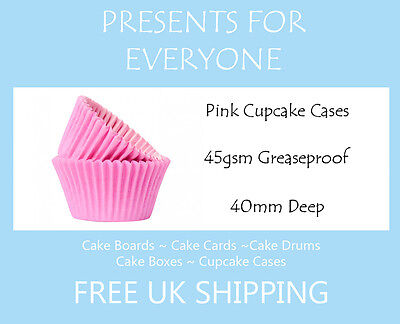 50 x Baby Pink Muffin / Cupcake Cases