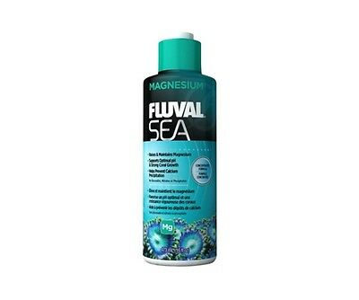 Fluval Sea Magnesium 237ml 473ml Marine Reef Coral Aquarium Treatment Additive