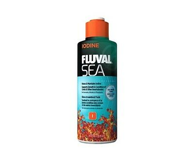 Fluval Sea Iodine 237ml 473ml Marine Reef Coral Aquarium Supplement Additive
