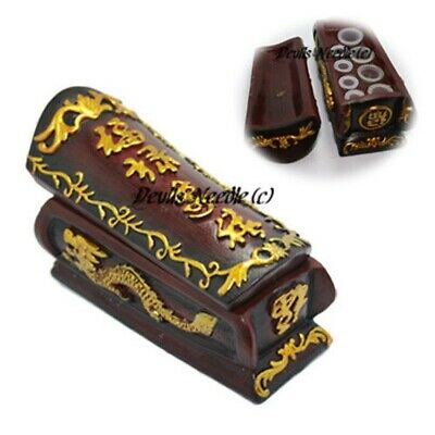 Coffin Design Tattoo Ink Cup/Cap Holder - Heavyweight Design