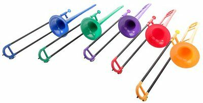 Classic Cantabile Tromba plastic trombone 12.7mm bore, train fiberglass, weighs