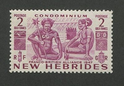 New Hebrides (French) #92 Mint