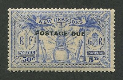 New Hebrides (British) #j4 Mint