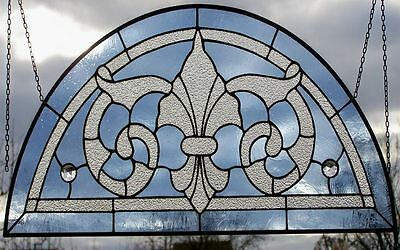 LEADED GLASS WINDOW Image Victorian Skylight Mosaik- Bow in Tiffany