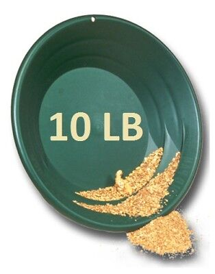 Gold Paydirt 10 LB Colorado - Unsearched Gold Paydirt Bags - Guaranteed Gold