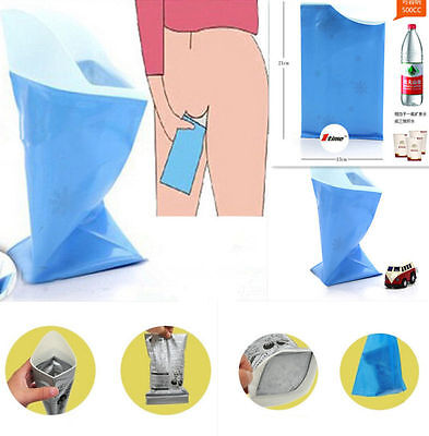 Outdoor Car Travel Disposable Emergency Unisex Toilet Urine Bag 2016 HOT
