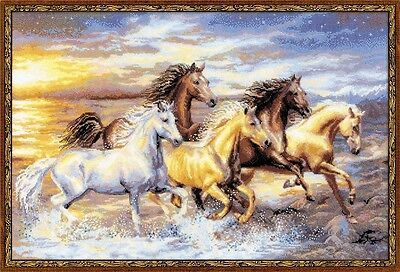 """Counted Cross Stitch Kit RIOLIS - """"In the Sunset"""""""