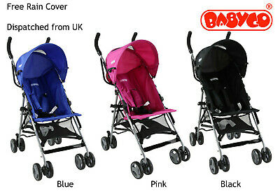 Baby Stroller  Suitable from 6 months- Free Raincover Lightweight Stroller
