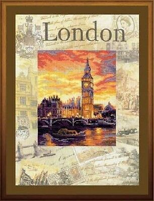"""Counted Cross Stitch Kit RIOLIS 0019 - """"Cities of the World. London"""""""