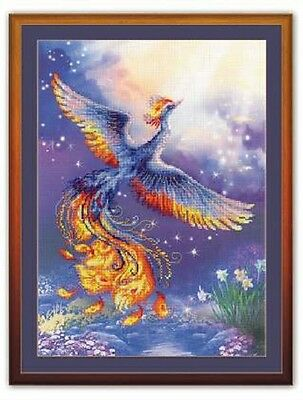 """Counted Cross Stitch Kit RIOLIS 0034 - """"Bird of Happiness"""""""