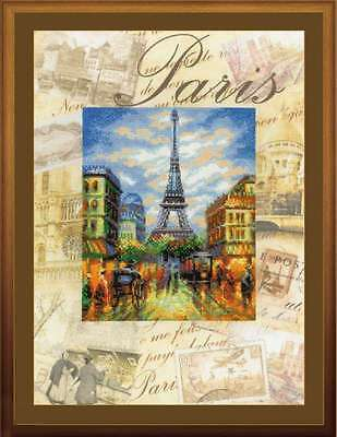 """Counted Cross Stitch Kit RIOLIS 0018 - """"Cities of the World. Paris"""""""