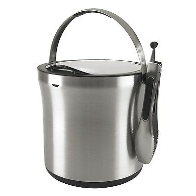 OXO Steel 3107300SS Ice and Wine Bucket (Silver)