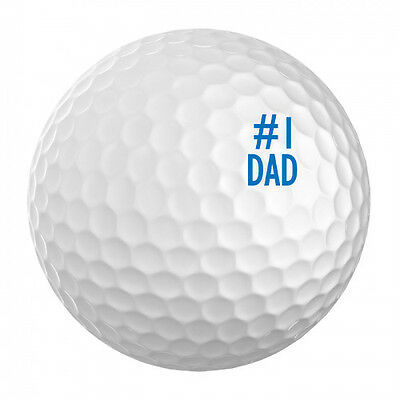 Golf Ball ID Stamp - # 1 DAD - ID your golf ball