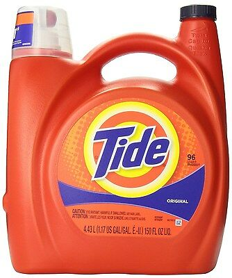 Tide Original Scent Liquid Laundry Detergent 4.43-Liter- Packaging May Vary