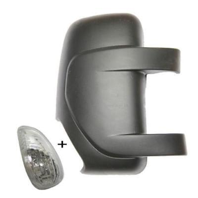 INDICATOR BLACK RENAULT MASTER WING MIRROR COVER,RHS 2004 to 2009