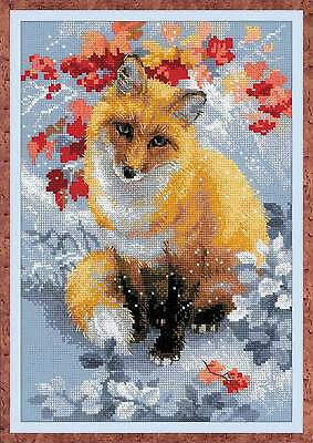 "Counted Cross Stitch Kit RIOLIS 1510 - ""Fox"""