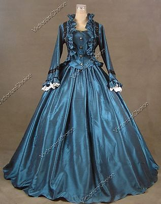 Civil War Victorian Old West Gown Westworld Dress Reenactment Theatre Attire 170