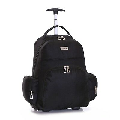 Wheeled Cabin Laptop Computer Suitcase Trolley Hand Luggage Case Bag Backpack
