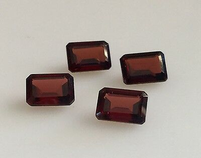 7x5mm Emerald Cut Loose Garnet Natural Gemstone January Birthstone BRAND NEW
