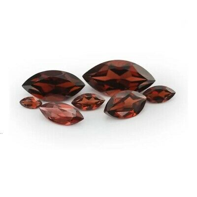 6x3mm Marquise Cut Loose Garnet Natural Gemstone January Birthstone BRAND NEW