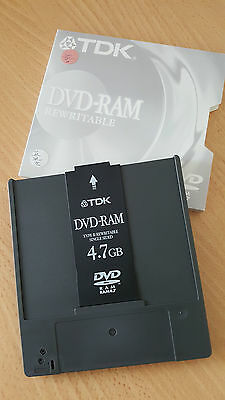 TDK 4.7GB RAM REwritable Single Sided Type II