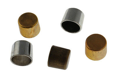 20pcs Column Jewelry Findings End Cap Stopper Bead Fit 10mm Leather Cord