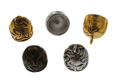 10pcs12mm Leather Cord End Cap Bead Stopper Jewelry Findings Charms