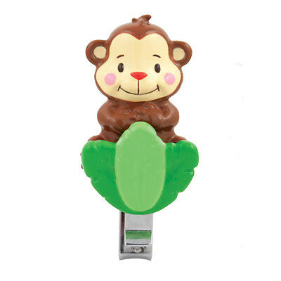 Sassy Soft Grip Nail Clippers Monkey