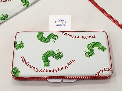 Hungry Caterpillar (writing) Baby Wipes Case - Perfect Gift For Baby Shower