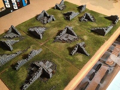 Scenic Plate (6) : Forgotten Labyrinth 28mm Wargame Terrain & Scenery