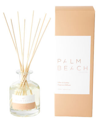 New Palm Beach Collection Lillies And Leather Diffuser Natural