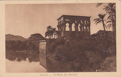 Carte postale ancienne EGYPTE EGYPT temple de philoe phylae