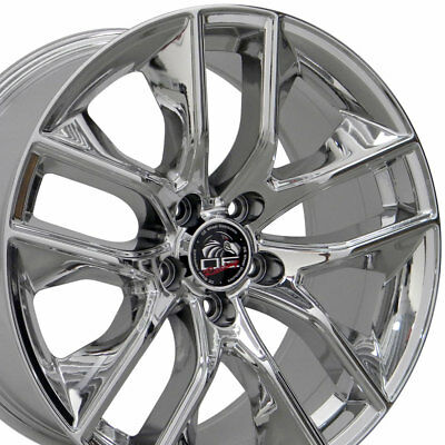 2015 Mustang Gt Wheels >> 18x9 Pvd Chrome 2015 Mustang Gt Style Wheels Set Of 4 18