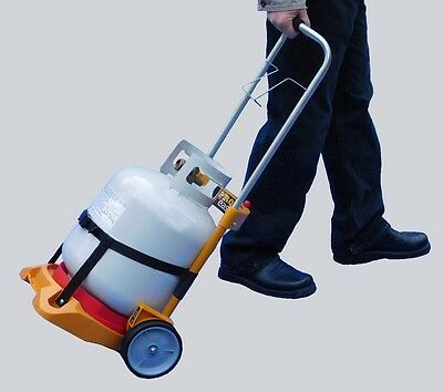 Refrigerant Recovery Reclaim Cylinder Tank Hand Truck Dolly (tank not included)