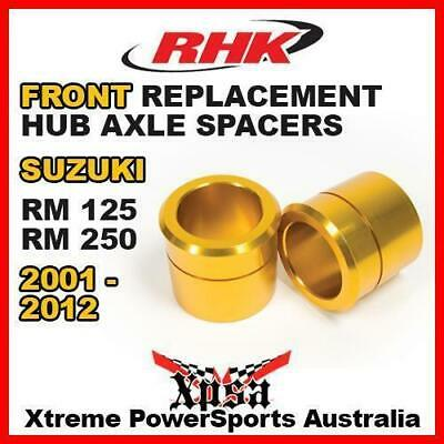 Rhk Replacement Axle Spacer Front Suzuki Rm125 Rm250 Rm 125 250 2001-2012 Gold