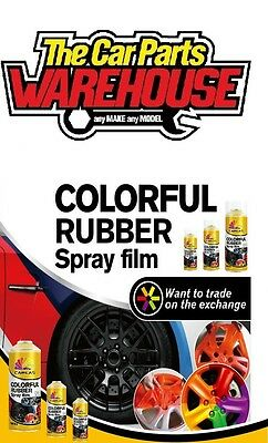 "Anthracite Grey Rubber Aerosol Spray Wrap "" plastic dip ""  (Peel off Paint)"