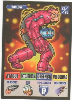 Willow  Defenders 22/25 Kaos The Game Bollycao Ref:2371