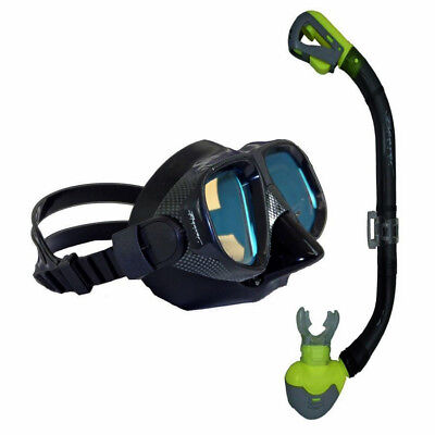 Anti-Glare Underwater COLOUR ENHANCING Dive Diving Snorkelling Mask and Snorkel