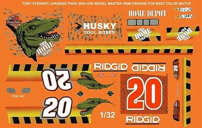 #34 Tony Raines A/&W  1//43rd Scale Slot Car Decals