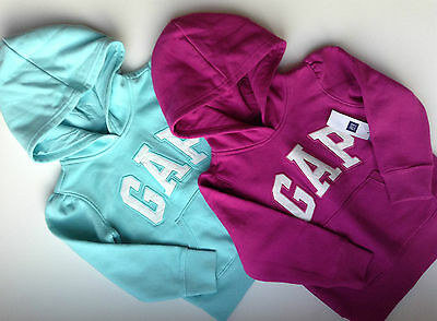 GAP LOGO Girl's HOODIE/Top/Sweatshirt - PINK, BLUE, PLUM -3-5 years - NEW